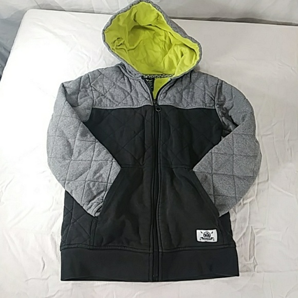 59b16af5 shaun white Jackets & Coats | Kids Quilted Hoodie Size M | Poshmark